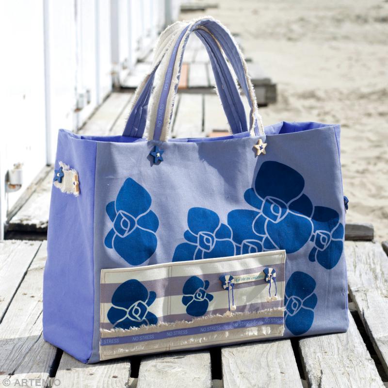 fabriquer un sac de plage fleurs sac orchid e et sac fleurs chinoises id es et conseils. Black Bedroom Furniture Sets. Home Design Ideas