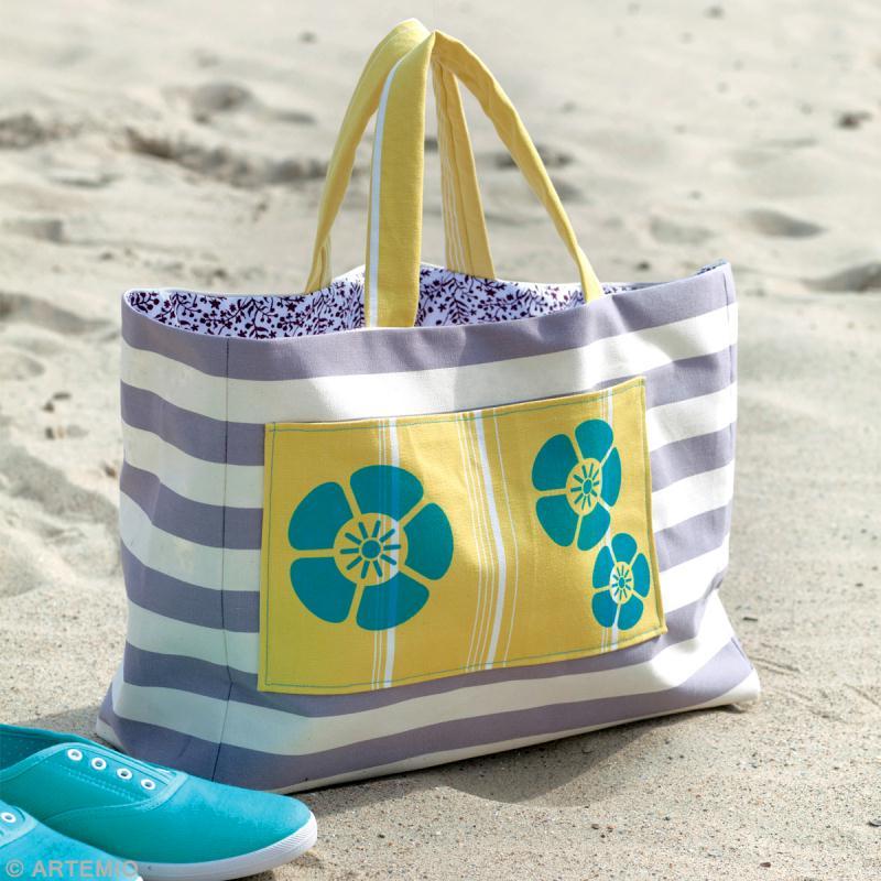 Fabriquer un sac de plage à fleurs : sac Orchidée et sac Fleurs ...
