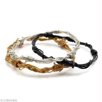 DIY bracelet en fil alu