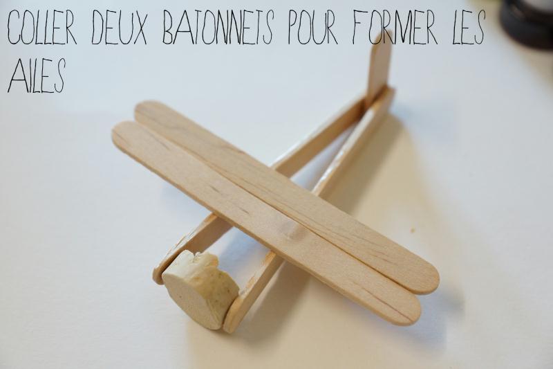 un avion en batonnets de glace id es et conseils activit manuelle enfant. Black Bedroom Furniture Sets. Home Design Ideas