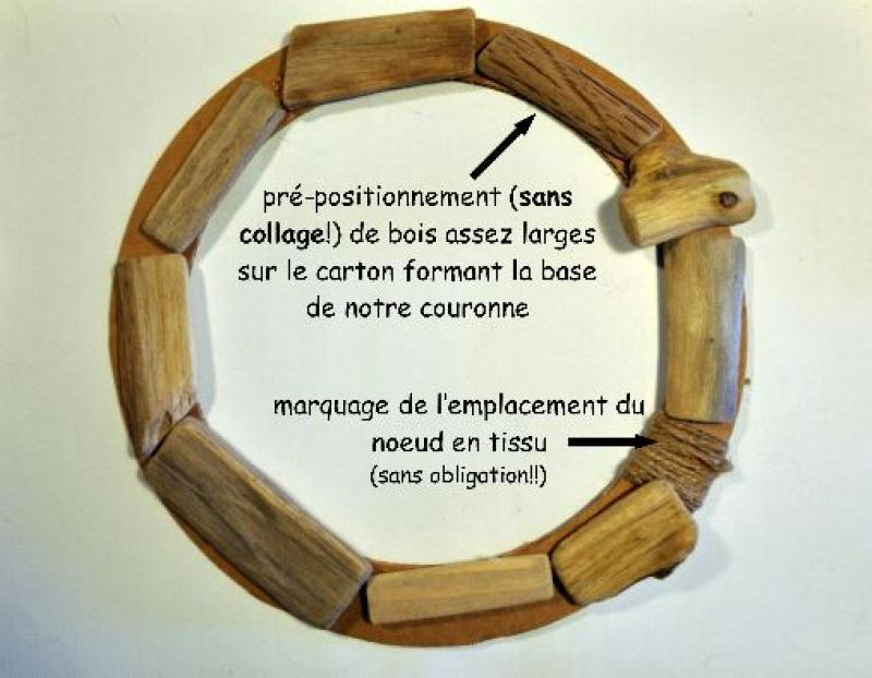 Diy couronne de porte de no l en bois flott id es et for Couronne en bois flotte