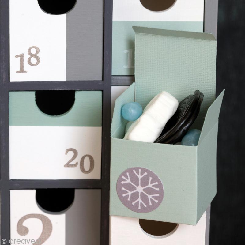 diy calendrier de l 39 avent d coration g om trique id es. Black Bedroom Furniture Sets. Home Design Ideas