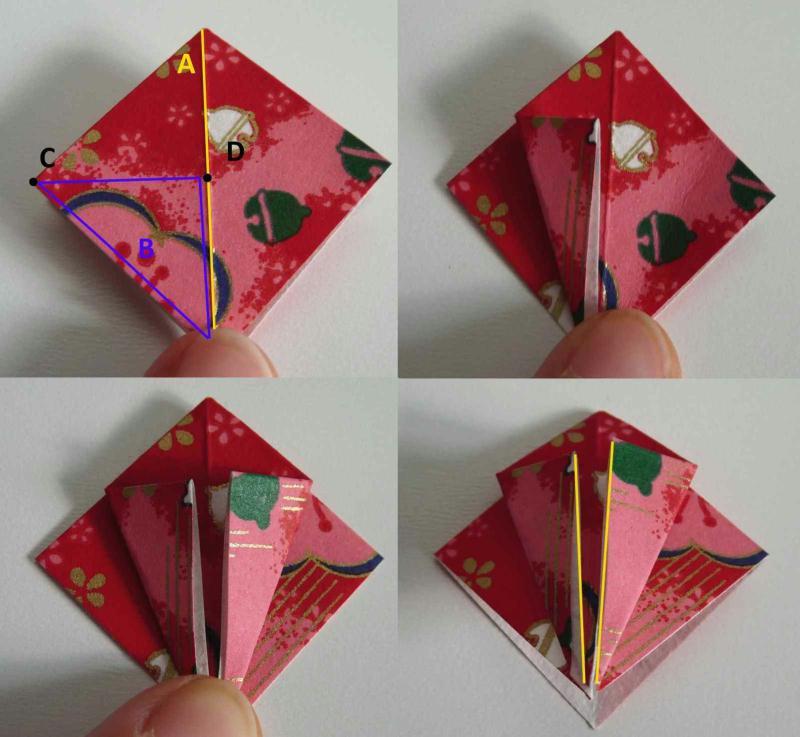 boucles d oreilles en origami facile id es et conseils perles et bijoux. Black Bedroom Furniture Sets. Home Design Ideas