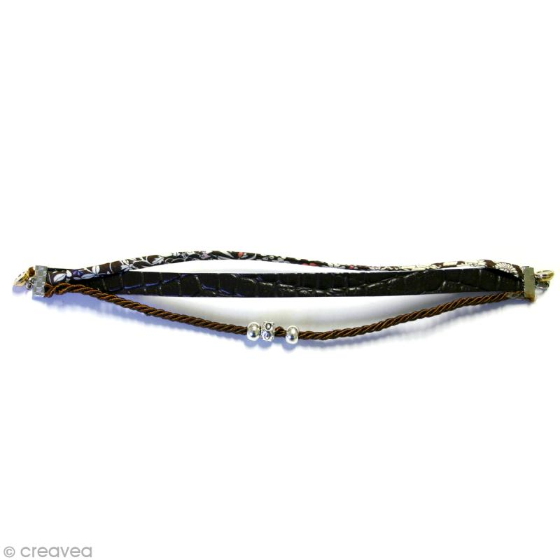 bracelet homme original en cuir et liberty id es et conseils perles et bijoux. Black Bedroom Furniture Sets. Home Design Ideas