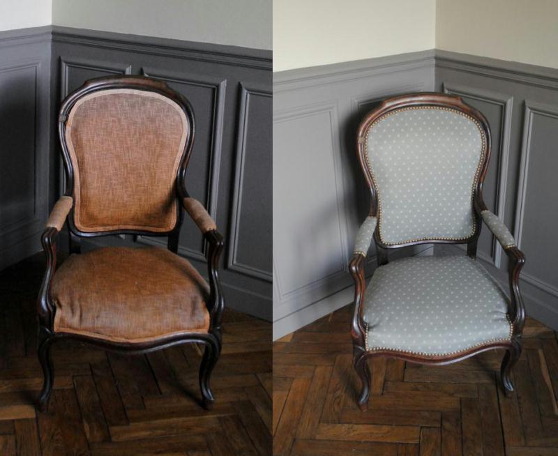 diy retapisser un fauteuil id es et conseils th matiques. Black Bedroom Furniture Sets. Home Design Ideas