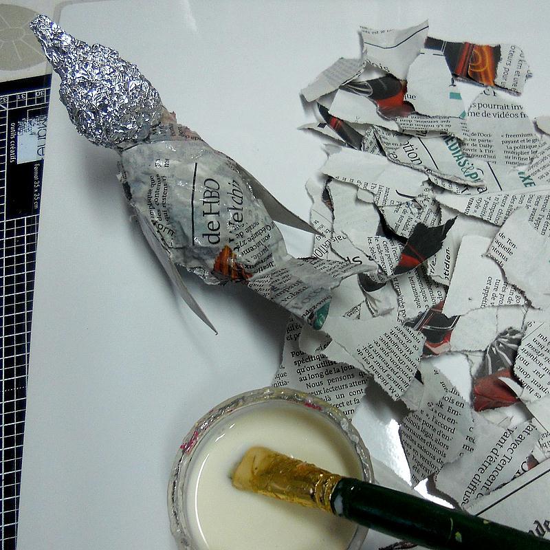comment faire un oiseau en papier m ch tuto id es et conseils d coration. Black Bedroom Furniture Sets. Home Design Ideas