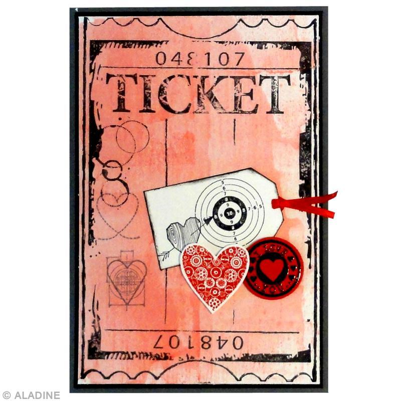 carte de saint valentin fabriquer tickets d 39 amour id es et conseils saint valentin. Black Bedroom Furniture Sets. Home Design Ideas