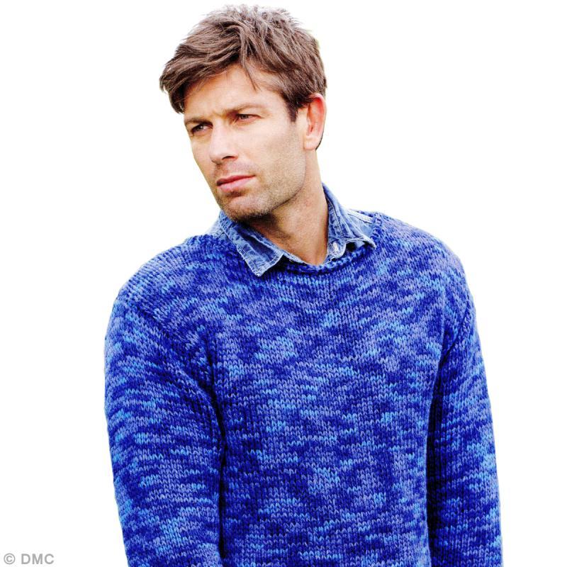 mod le tricot pull homme en jersey id es et conseils crochet et tricot. Black Bedroom Furniture Sets. Home Design Ideas