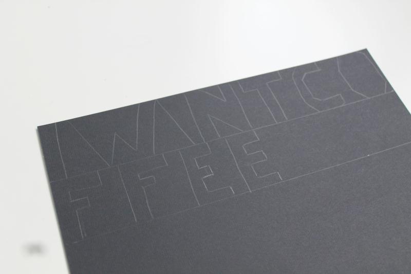 Comment faire une guirlande message en papier id es et - Fabriquer une couronne en papier ...