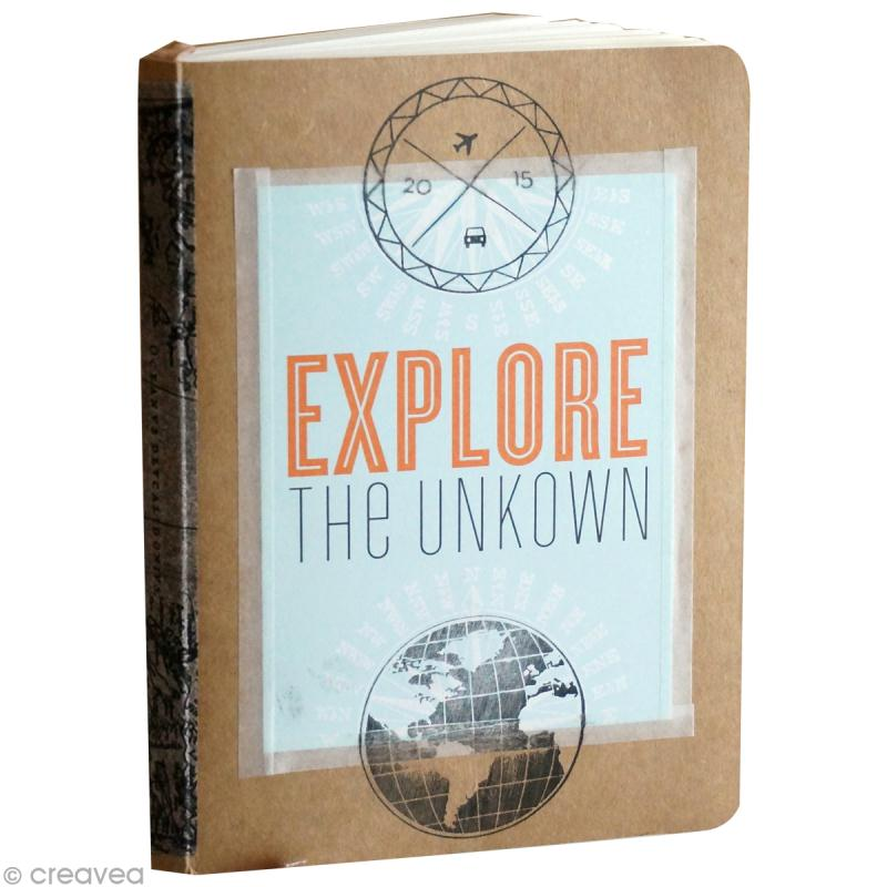 diy scrapbooking carnet de voyage tutoriel vid o. Black Bedroom Furniture Sets. Home Design Ideas