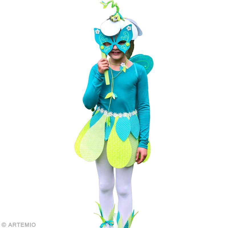 D guisement elfe des bois fabriquer id es et conseils masque et d guisement - Deguisement princesse a faire soi meme ...