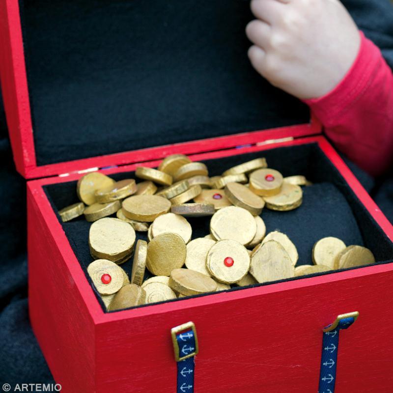 D guisement pirate id es et conseils carnaval mardi gras - Fabriquer un coffre a jouets simple et rapide en bois ...