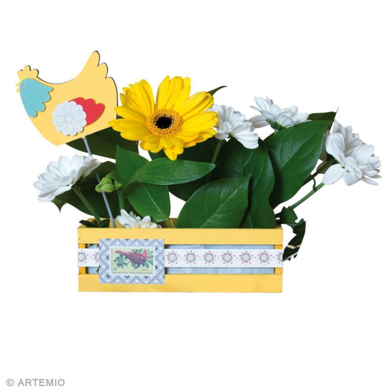 Bricolage de p ques une jardini re color e id es et conseils p ques - Bricolage jardiniere roubaix ...