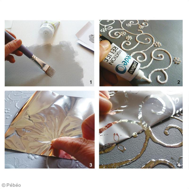 decoration tuto tableau horloge deco vintage fiches conseils