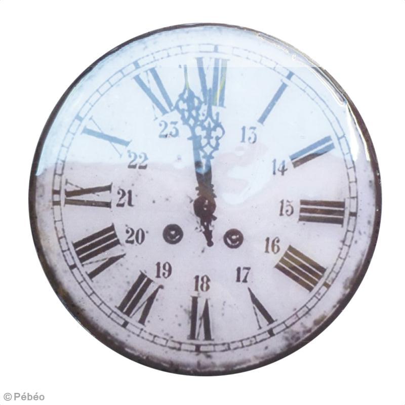 Tuto tableau horloge d co vintage id es et conseils for Tuto home deco tableau