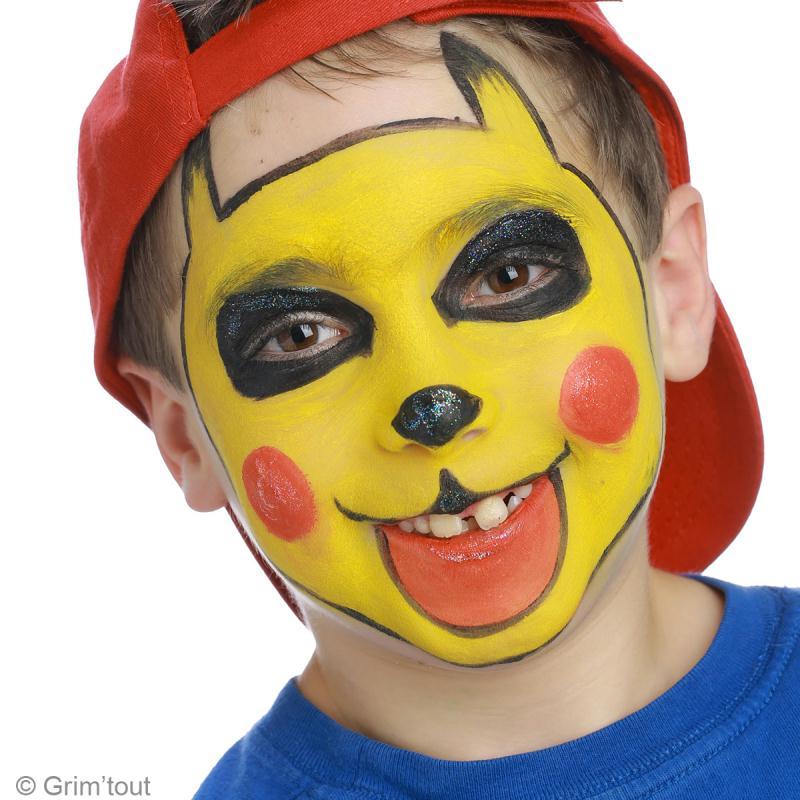Maquillage de pikachu facile id es et conseils maquillage Maquillage de diablesse facile a faire