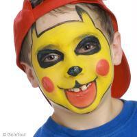 Maquillage de Pikachu facile