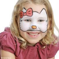 Tuto maquillage Hello Kitty
