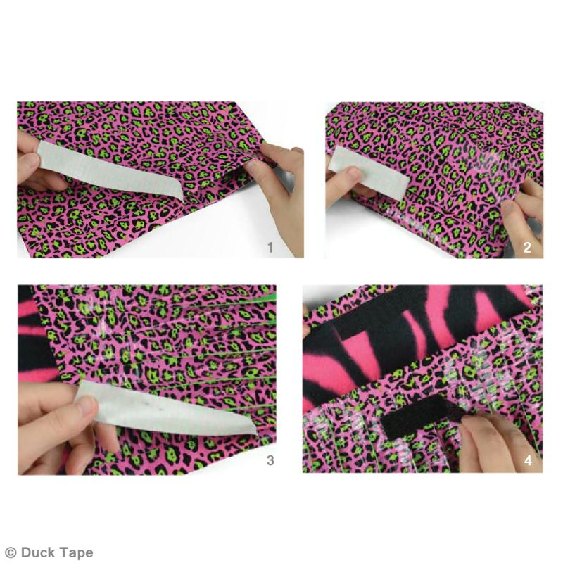 pochette tablette en duct tape id es et conseils duct tape. Black Bedroom Furniture Sets. Home Design Ideas