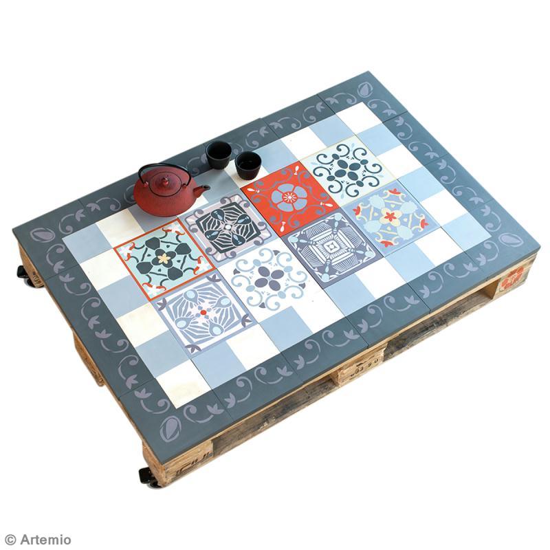 Diy r aliser une table basse vintage avec des palettes id es et conseils d - Realiser une table basse en palette ...