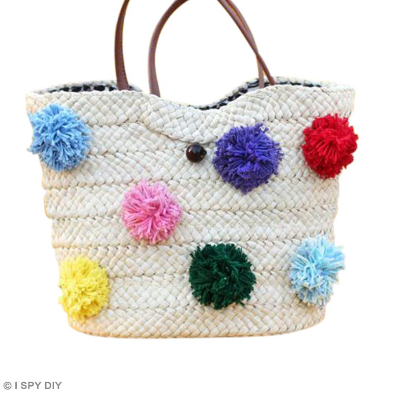 DIY pompon - couture - creavea