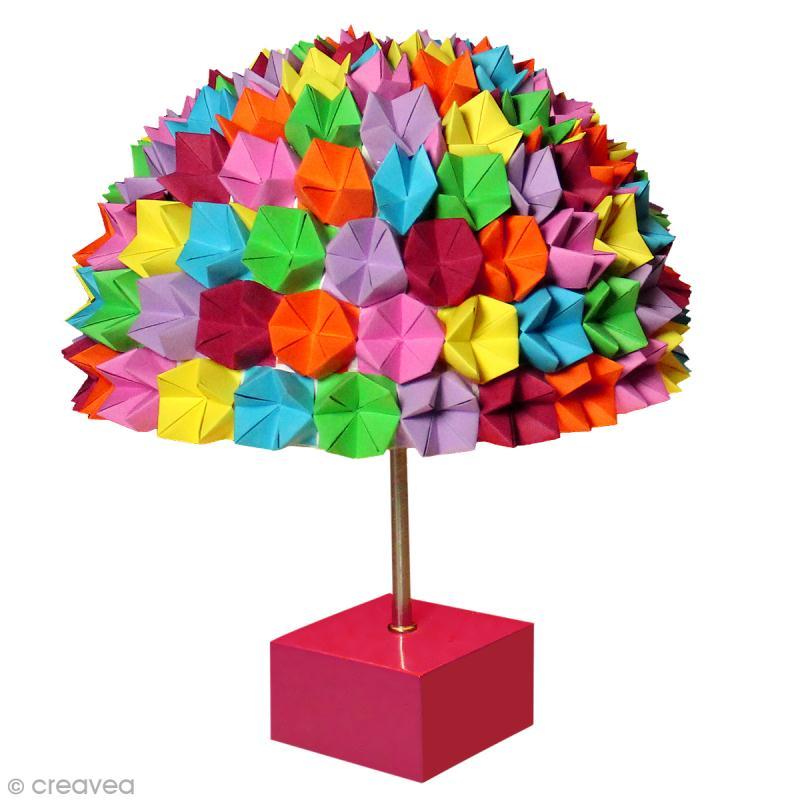 diy lampe origami home d co id es et conseils d coration. Black Bedroom Furniture Sets. Home Design Ideas