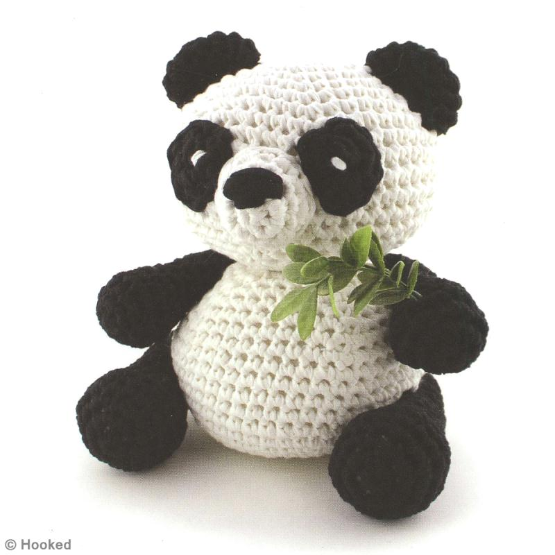 Amigurumi Bigfoot Panda : DIY Panda Amigurumi au crochet - Idees et conseils Crochet ...