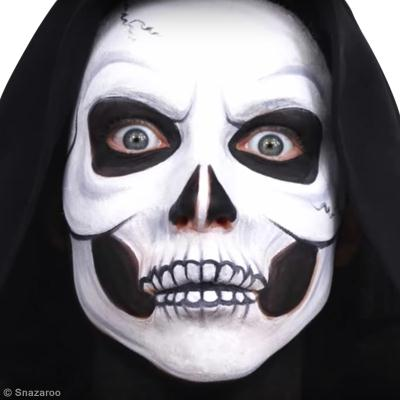 Maquillage Facile T Te De Mort Halloween Diy Vid O Id Es Et Conseils Maquillage