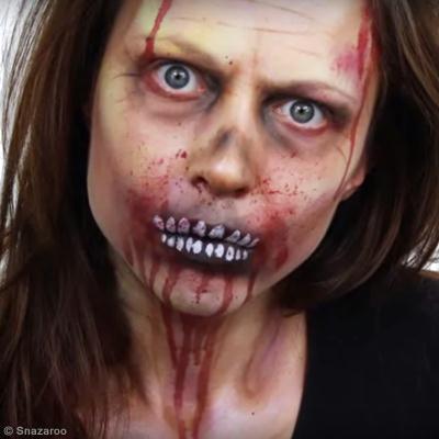 ... créatives > Idées Halloween > Tuto maquillage Zombie Halloween