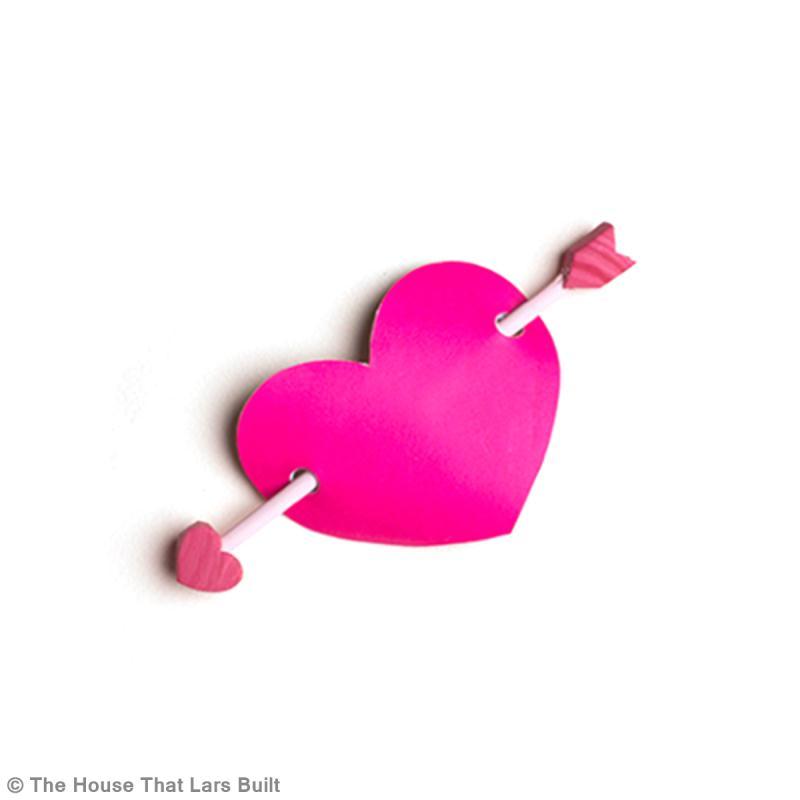 Bricolage Diy Amour Pince Cheveux Coeur Id Es Et Conseils Saint Valentin
