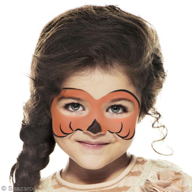 DIY Maquillage facile Citrouille Halloween pour fillette - Idées et ...