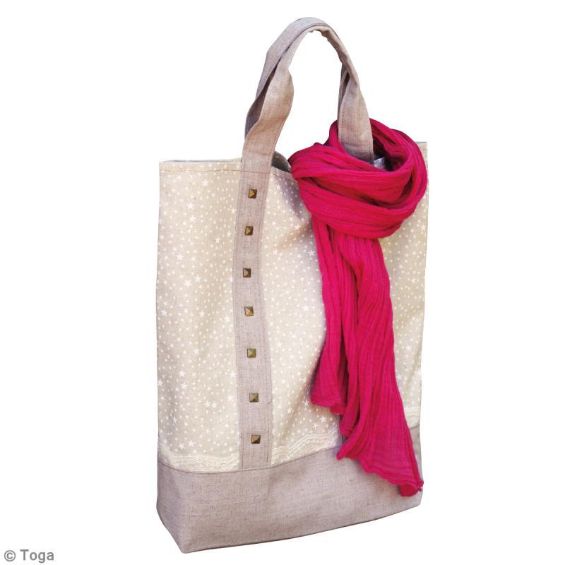 diy couture facile tote bag en lin id es et conseils tutos et diy couture facile d butant. Black Bedroom Furniture Sets. Home Design Ideas