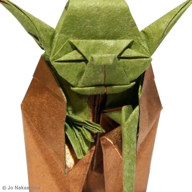 diy star wars yoda en origami id es et conseils origami. Black Bedroom Furniture Sets. Home Design Ideas