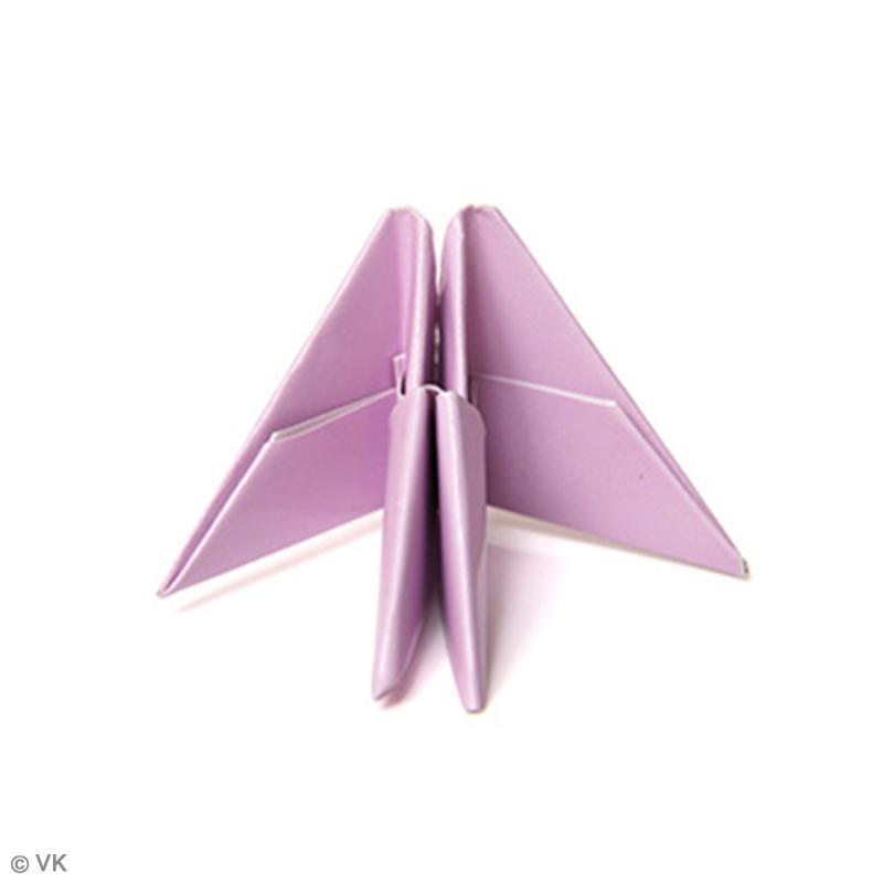 origami modulaire 3d fabriquer des modules en triangle. Black Bedroom Furniture Sets. Home Design Ideas