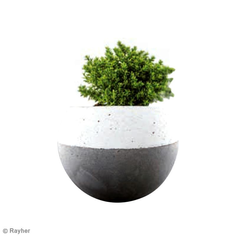 diy vase boule en b ton id es et conseils b ton. Black Bedroom Furniture Sets. Home Design Ideas