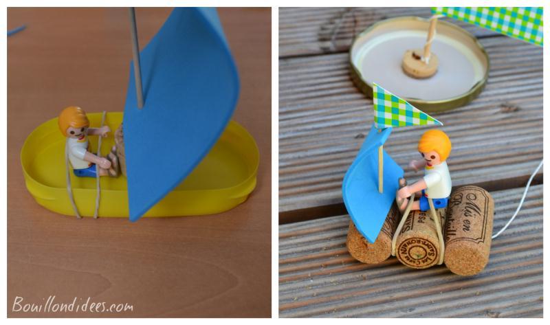 bricolage enfant fabriquer des petits bateaux id es et conseils activit manuelle enfant. Black Bedroom Furniture Sets. Home Design Ideas