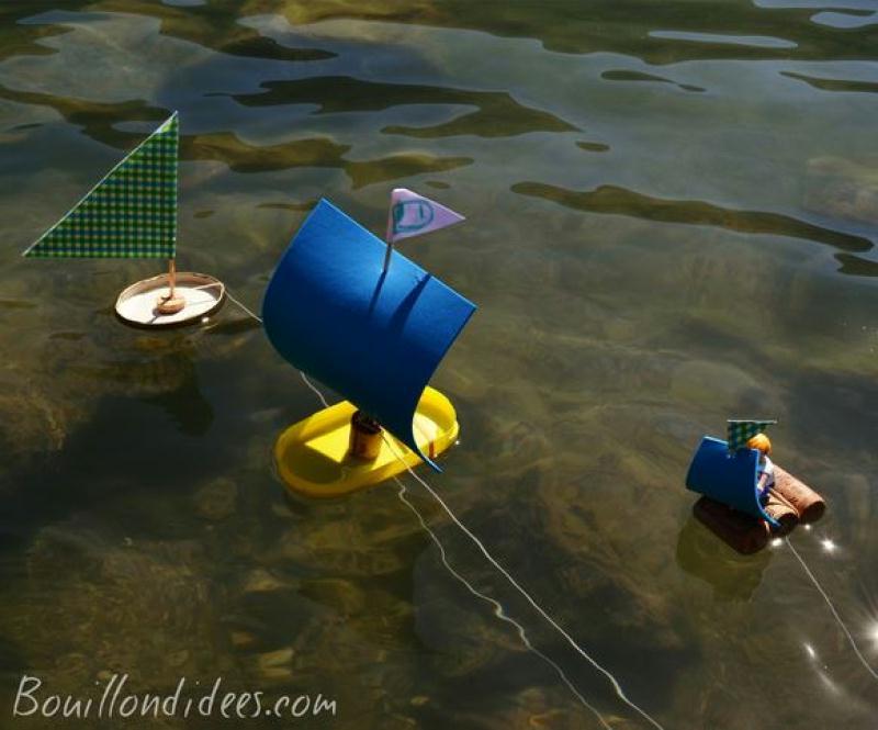 Bricolage enfant fabriquer des petits bateaux id es et conseils activit manuelle enfant - Fabriquer un bateau en papier ...