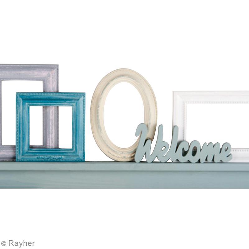 Tuto cadre décoré effet craie vintage - creavea diy