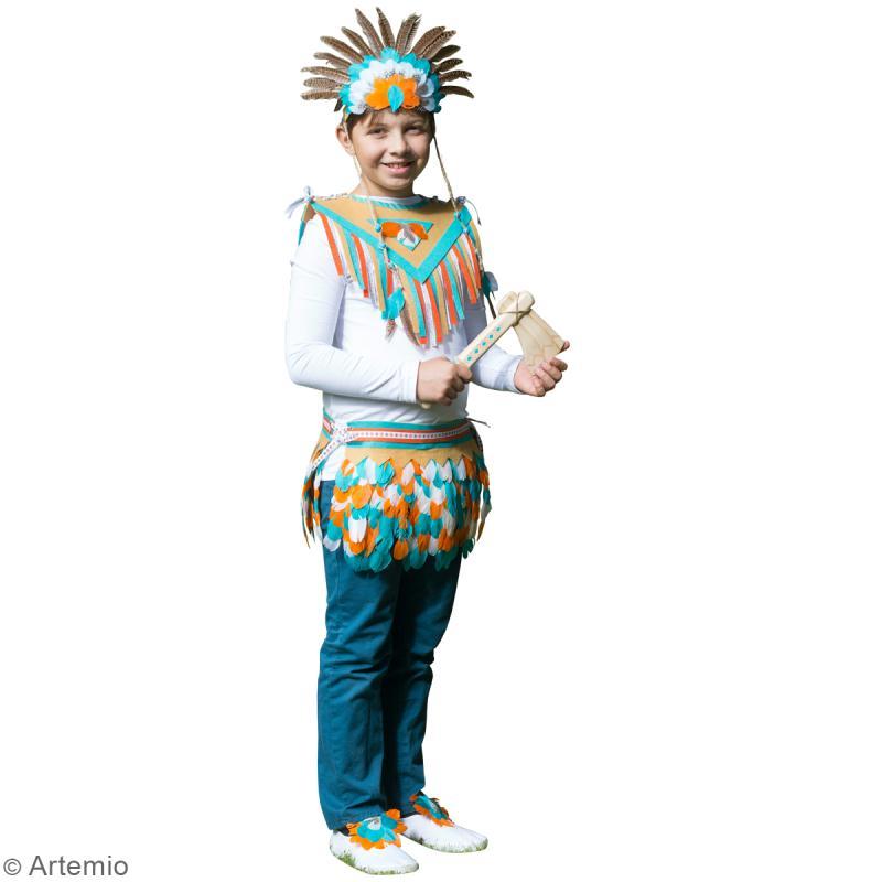 diy carnaval costume d 39 indien id es et conseils masque et d guisement. Black Bedroom Furniture Sets. Home Design Ideas