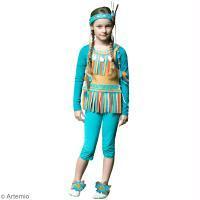 Tuto Carnaval : Costume d'indienne
