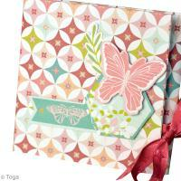 Mon mini album scrap Jardin secret