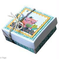 DIY Petite boîte à couvercle Hiboux