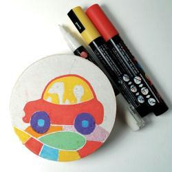 5. La boîte du jeu de voiture