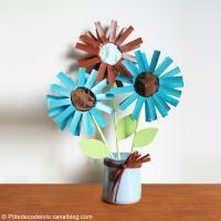 DIY Bouquet de fête des mères en papier