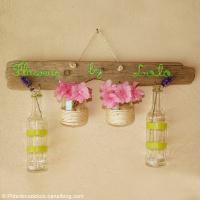 DIY Vases suspendus