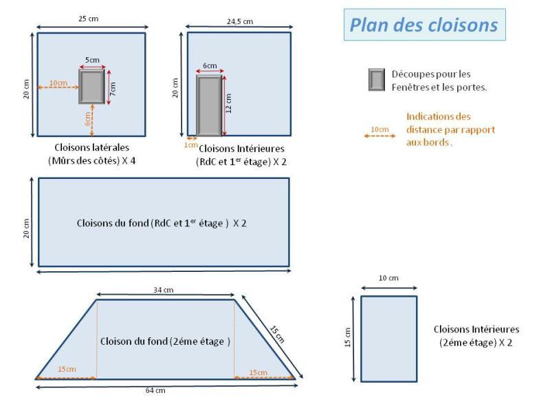 fabriquer maison de poup e en carton plume id es et. Black Bedroom Furniture Sets. Home Design Ideas