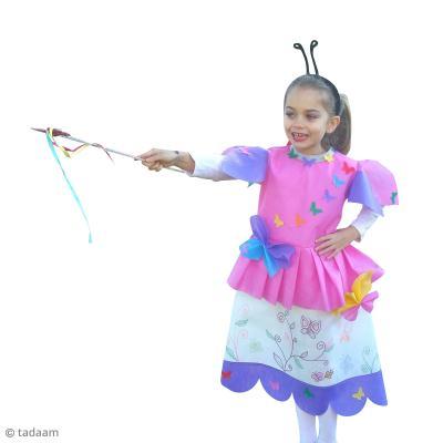 Diy d guisement enfant facile f e des papillons id es et conseils masque et d guisement - Idee deguisement enfant ...