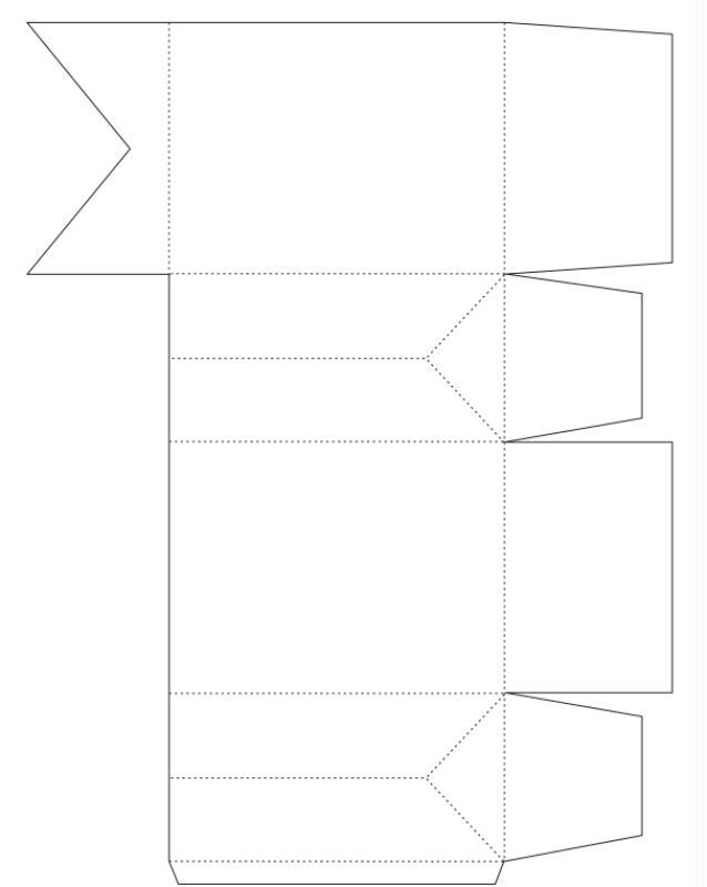 tuto facile pochette cadeau pour la f te des p res id es et conseils activit manuelle enfant. Black Bedroom Furniture Sets. Home Design Ideas