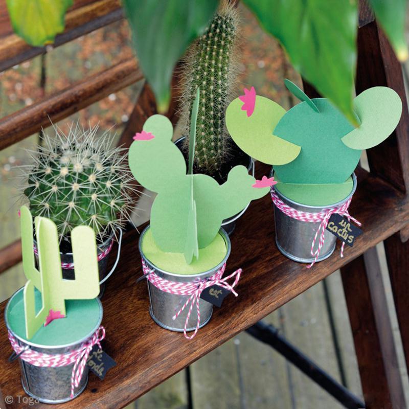 Diy d co fabriquer des cactus en papier id es et - Choses savoir sur lutilisation des couleurs en decoration ...