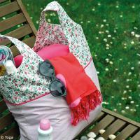 DIY Coudre un sac de plage pour l'été